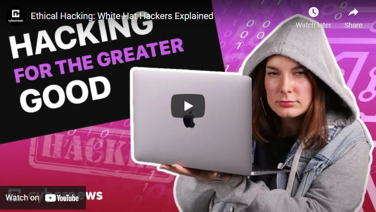 Ethical Hacking: White Hat Hackers Explained video screenshot