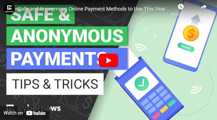Safe and Anonymous Online Payment Methods to Use This Year video screenshot