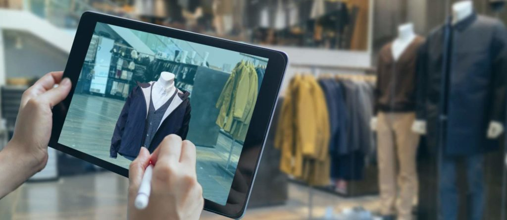 virtual reality to design a clothes in 3D fashion design software program