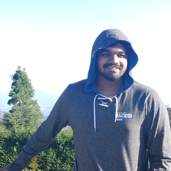 "Picture of Abhishek Dharani, the Bangalore-based security researcher better known as ""Abss."""