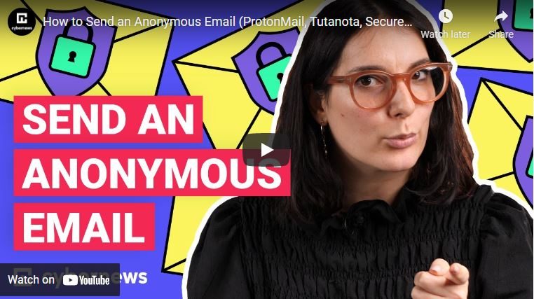 How to Send an Anonymous Email (ProtonMail, Tutanota, Secure Email, Guerilla Mail) video screenshot