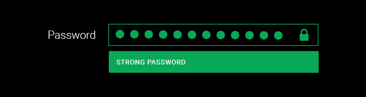 Implementing strong password security