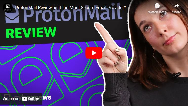 ProtonMail Review: is it the Most Secure Email Provider? video screenshot