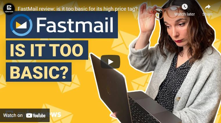 FastMail review: is it too basic for its high price tag? video screenshot