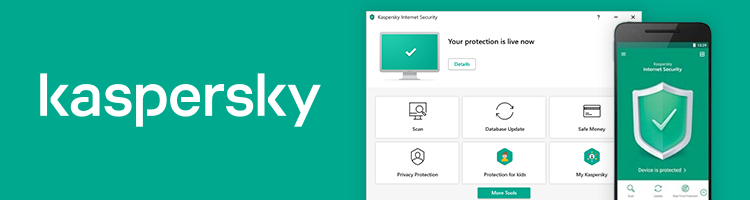Kaspersky user interface