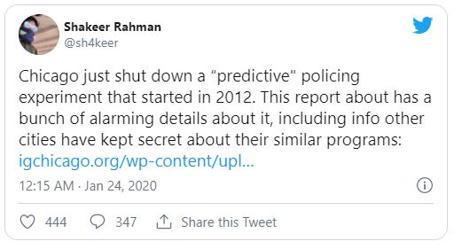 Shakeer Rahman tweet screenshot
