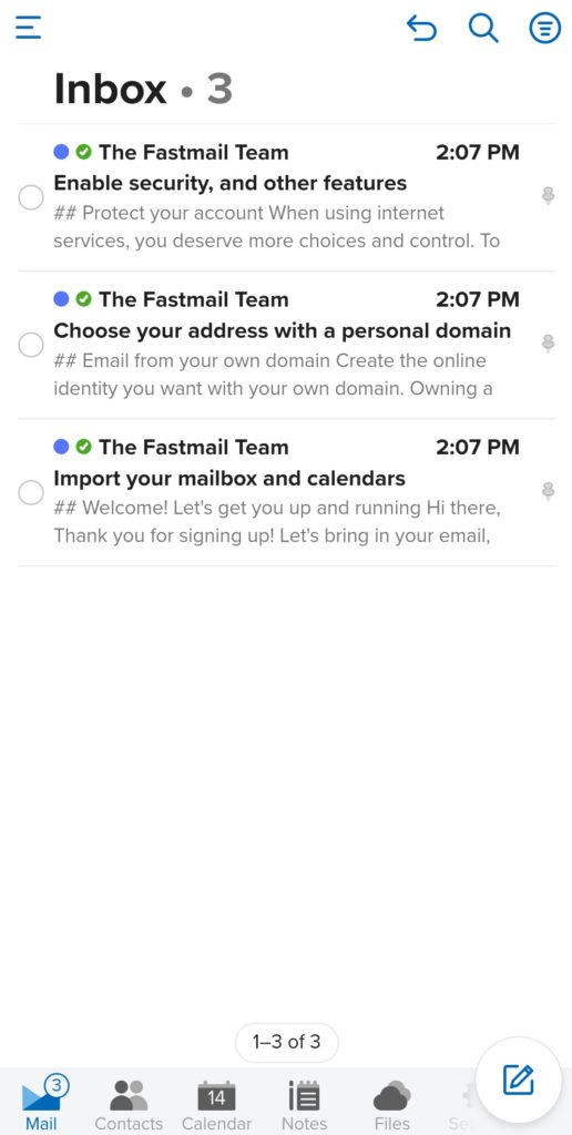 fastmail android app