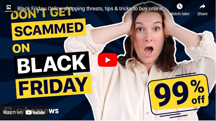 Black Friday: Online shopping threats, tips & tricks to buy online safely video screenshot