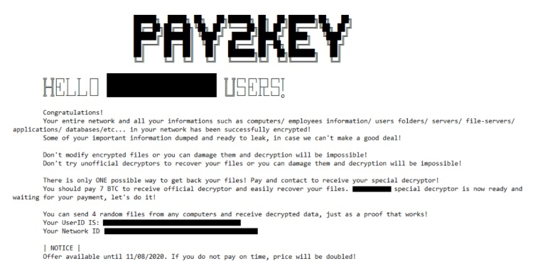 , Researchers traced newly discovered sophisticated Pay2Key ransomware to Iran