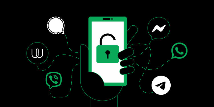 Research: nearly all of your messaging apps are secure