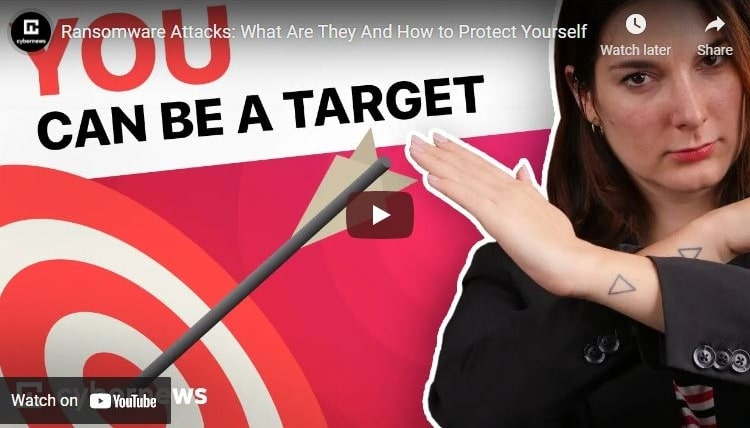 Ransomware Attacks: What Are They and How to Protect Yourself video screenshot