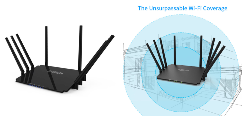 Comparison of Jetstream and Winstars gaming routers