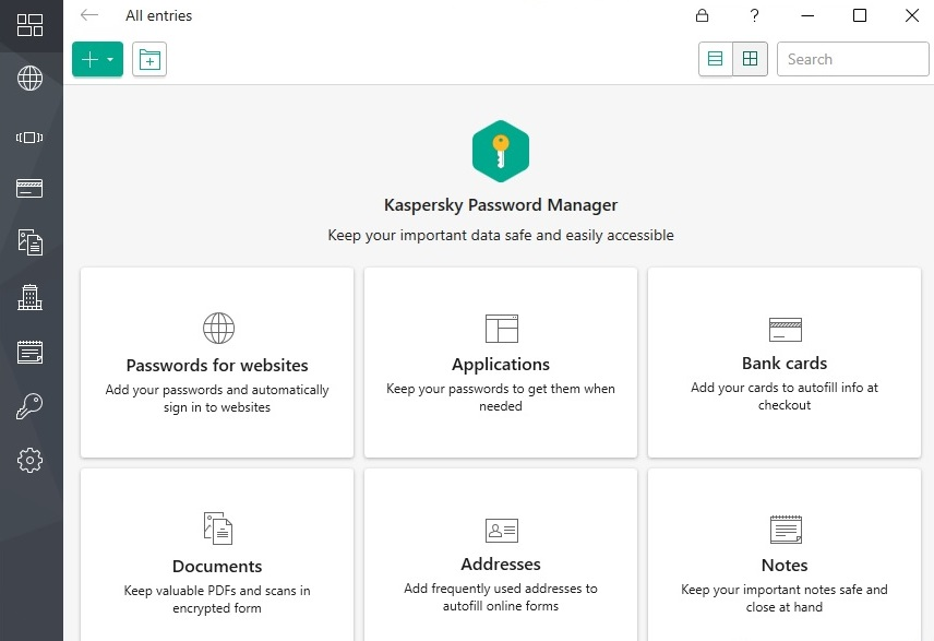 kaspersky password manager