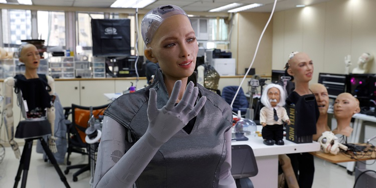 , Makers of Sophia the robot plan mass rollout amid pandemic