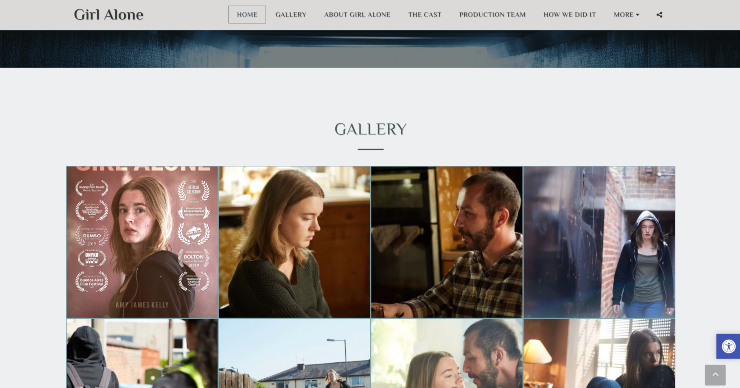 site123 personal website example