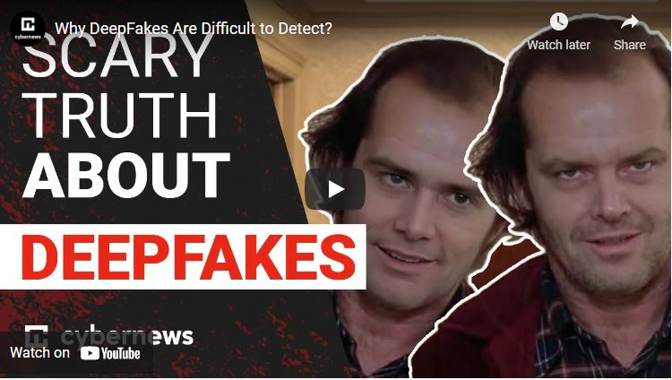 Why DeepFakes Are Difficult to Detect? video screenshot