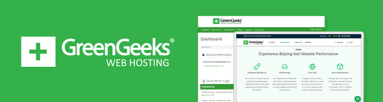 GreenGeeks interface in smart devices