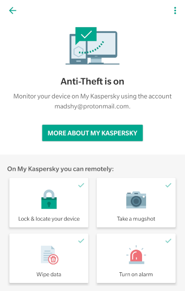 kaspersky android screenshot