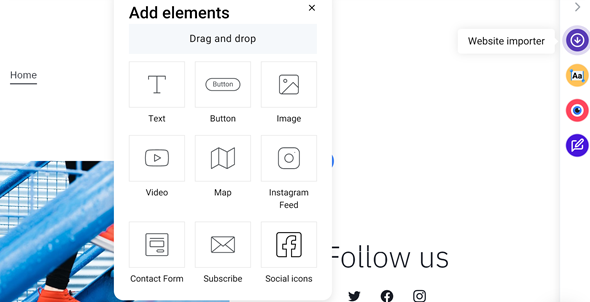 Add on-page elements