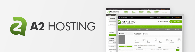 A2 Hosting web hosting for WordPress