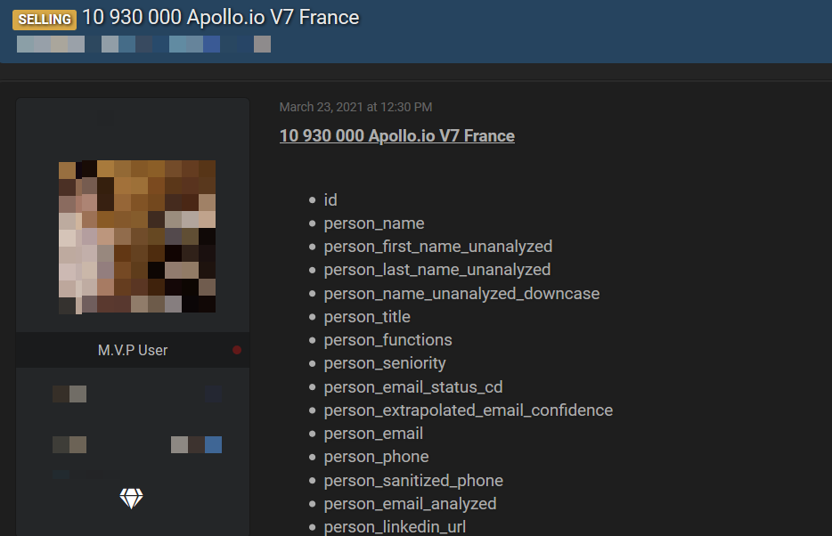 , 11 million records of French users stolen from marketing platform and put for sale online