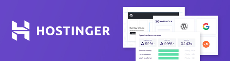 Hostinger - best web hosting for WordPress