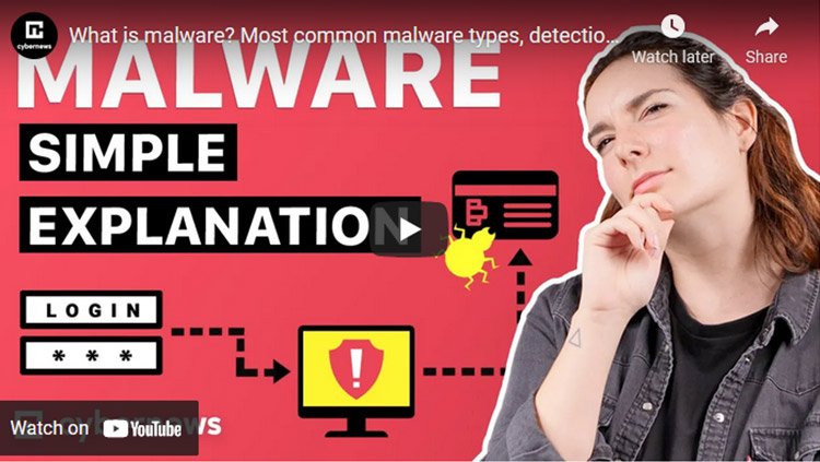 video about malware
