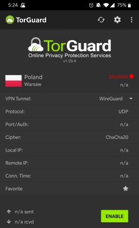 TorGuard Android