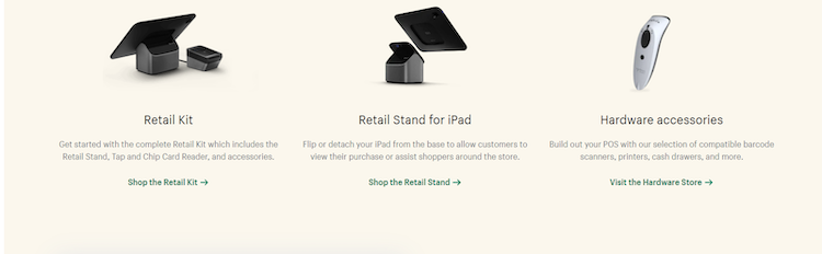 shopify point of sale hardware
