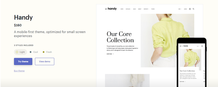 shopify template 1