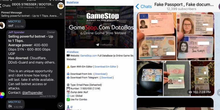 , Dark side of encrypted chat apps: market for counterfeit goods and hacking tools