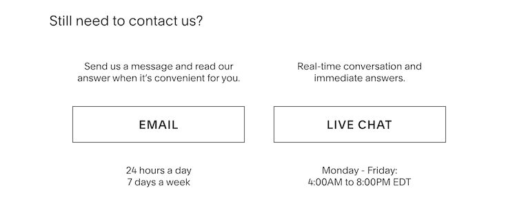 Squarespace customer support options