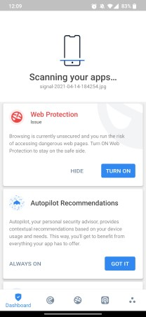 Vipre Android app