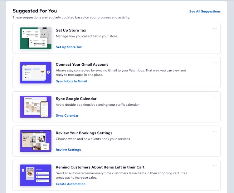 wix ecommerce guides