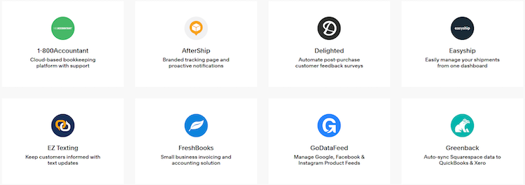 squarespace apps
