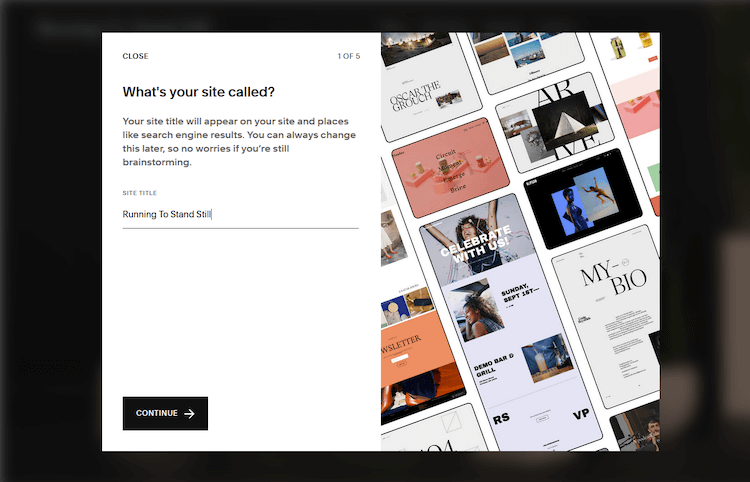 squarespace offers a friendlier setup process than weebly