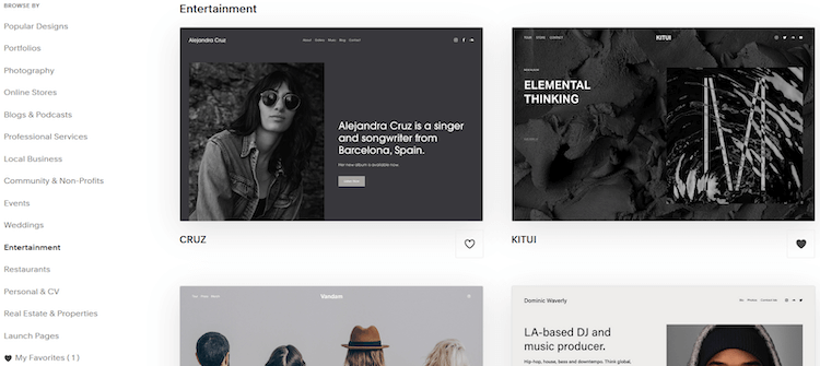 setting up squarespace themes