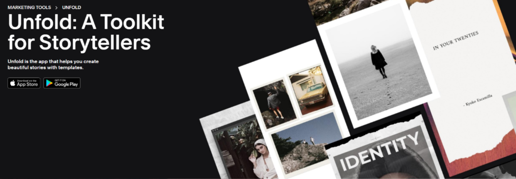 squarespace unfold tool